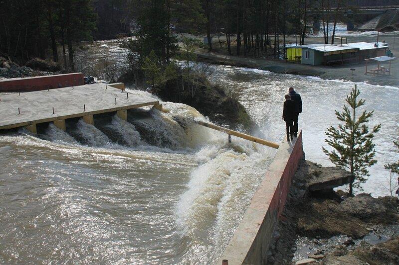 Россия, Карпысакский водопад (Russia, Karpysaksky Falls(