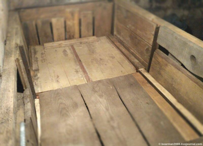 Ящик для картошки. Верхний ярус