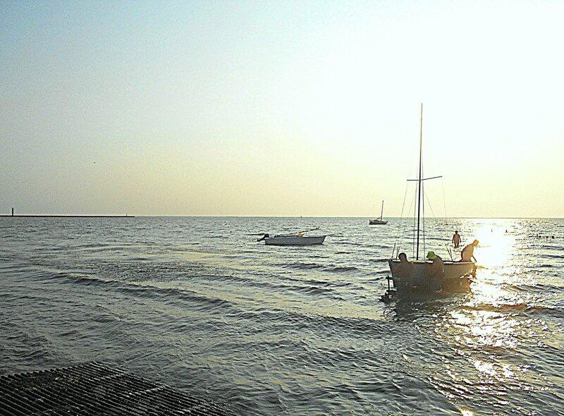 На солнечной дорожке, курсом на берег ... DSCN7836.JPG
