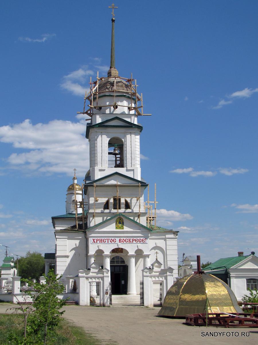 На Собор Святой Троицы будет установлен новый купол