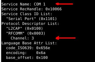 определение канала com1