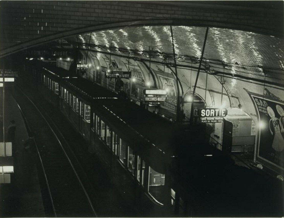 1931. Конечная станция метро «Пале-Рояль»