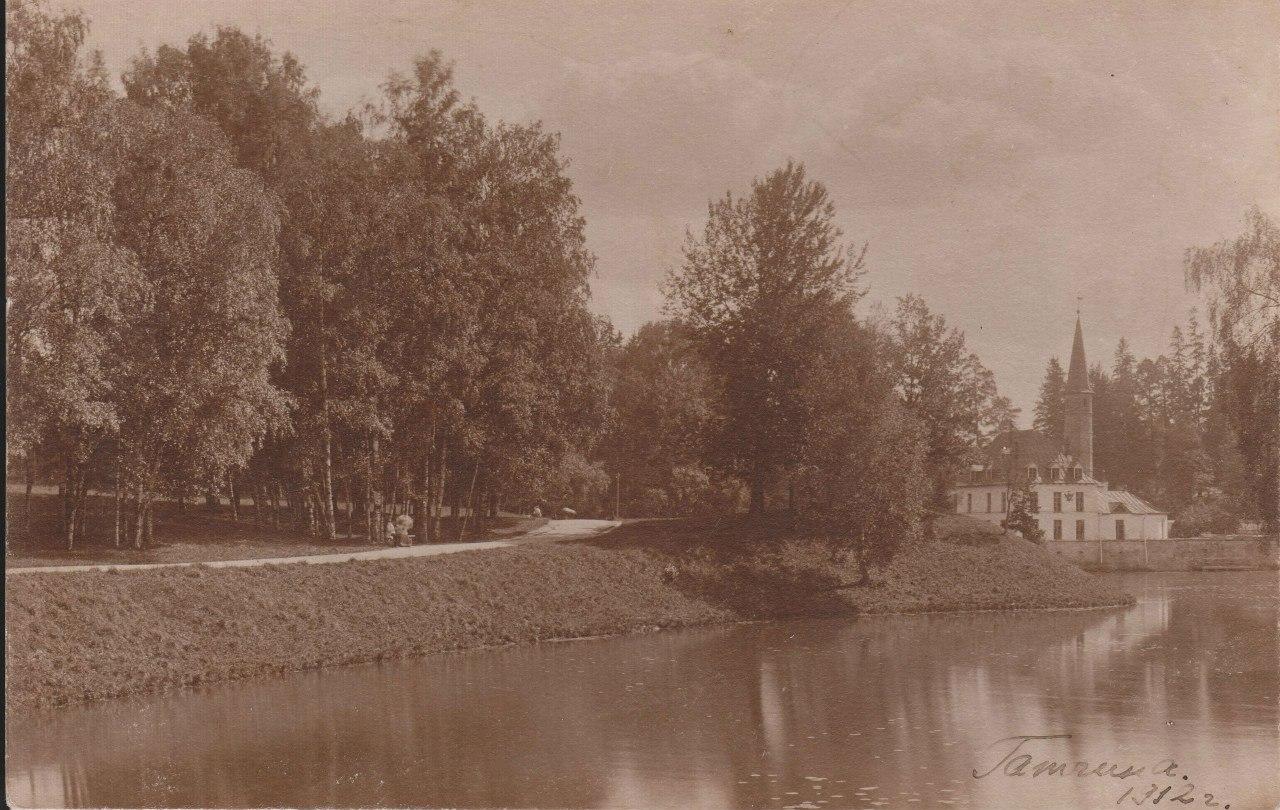 Вид на Приоратский дворец
