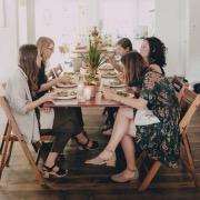 Обед с друзьями