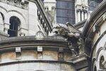 Париж - Гаргульи базилики Сакре-Кер