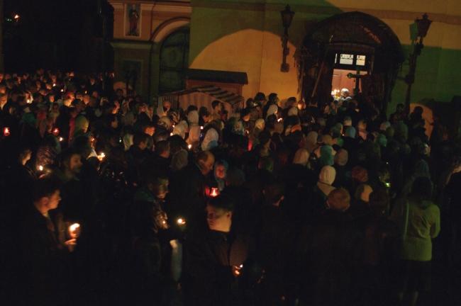 Пасха 2010 года. Свято-Николаевский кафедральный собор