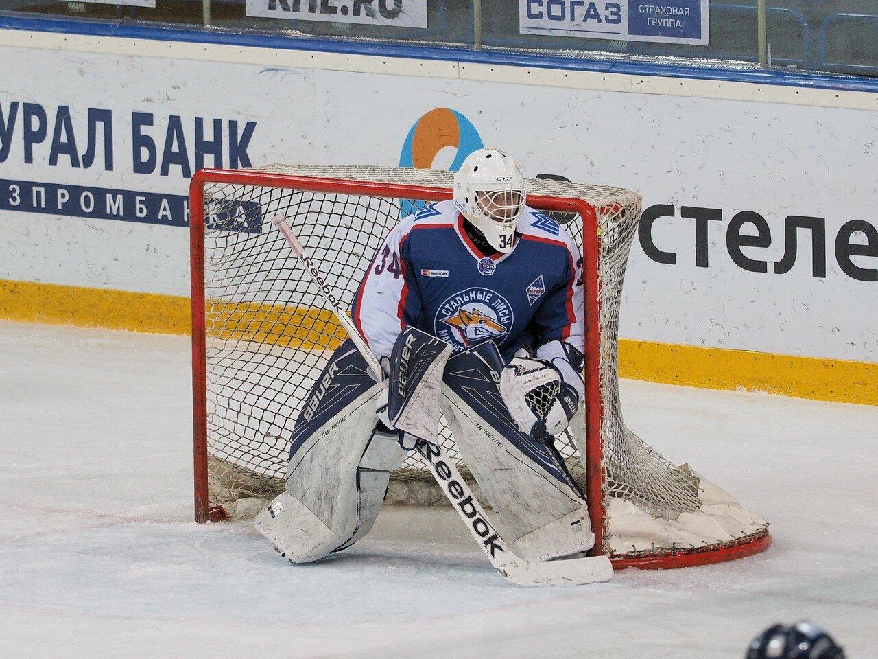 46Стальные Лисы - Омские Ястребы 13.12.2016