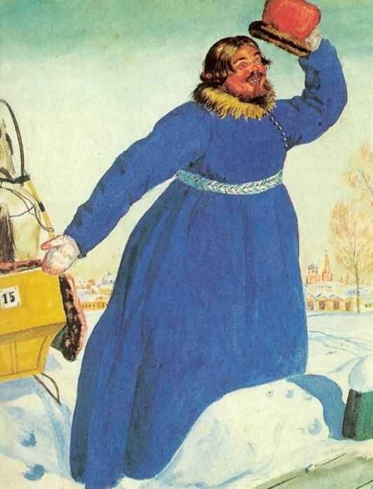 Кустодиев Русские типы Извозчик-лихач.jpg