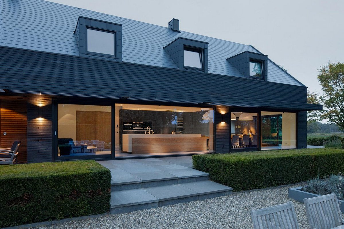 Реконструкция дома в провинции Нидерландов