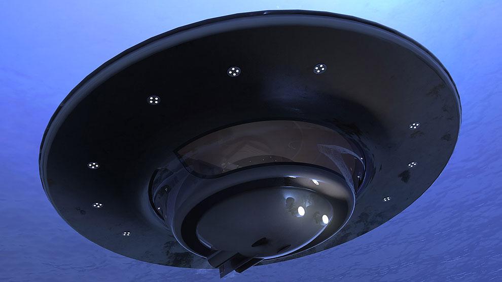 Проект плавучего дома в форме НЛО