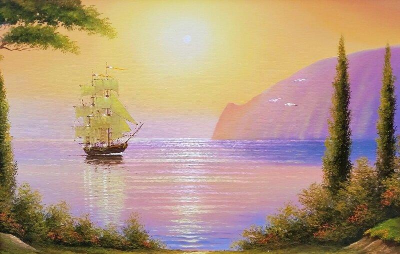 Голубая бухта ...