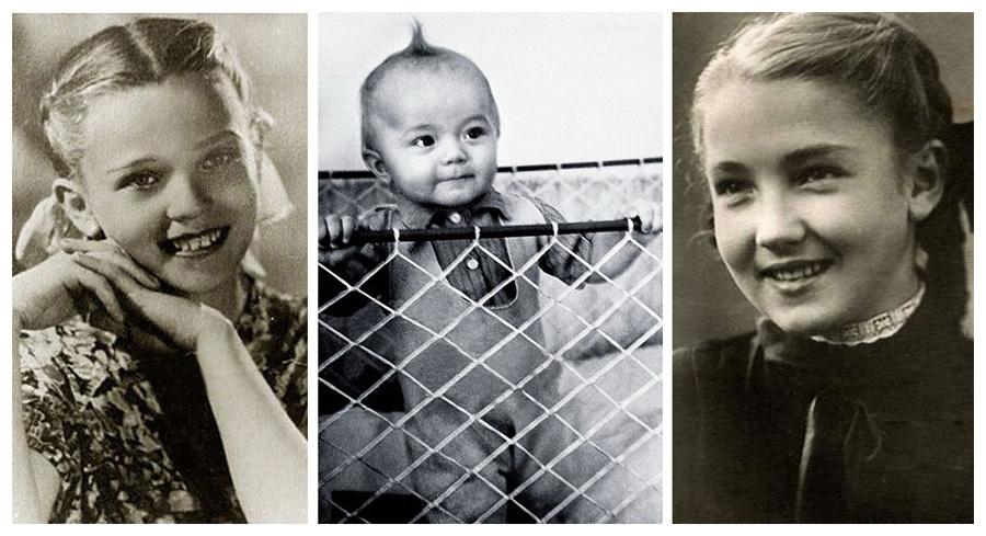 История в фотографиях.Знаменитости в детстве. Фото из домашних архивов