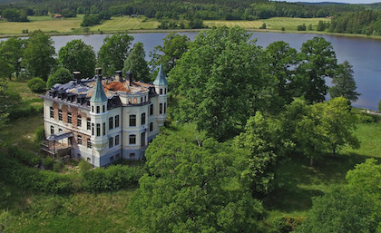 В Швеции продают замок по цене квартиры