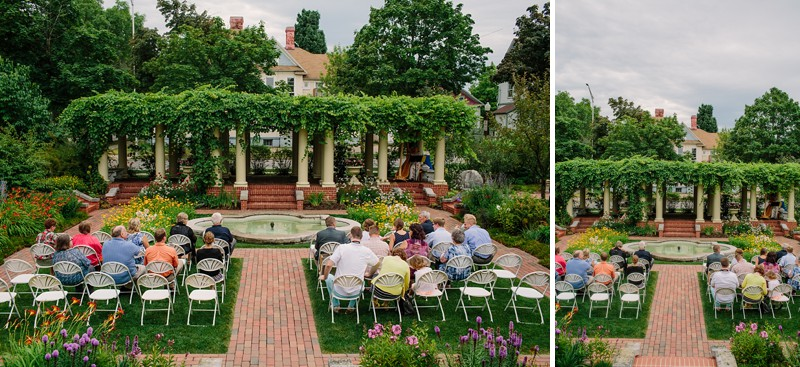 The Yawkey House Museum Garden
