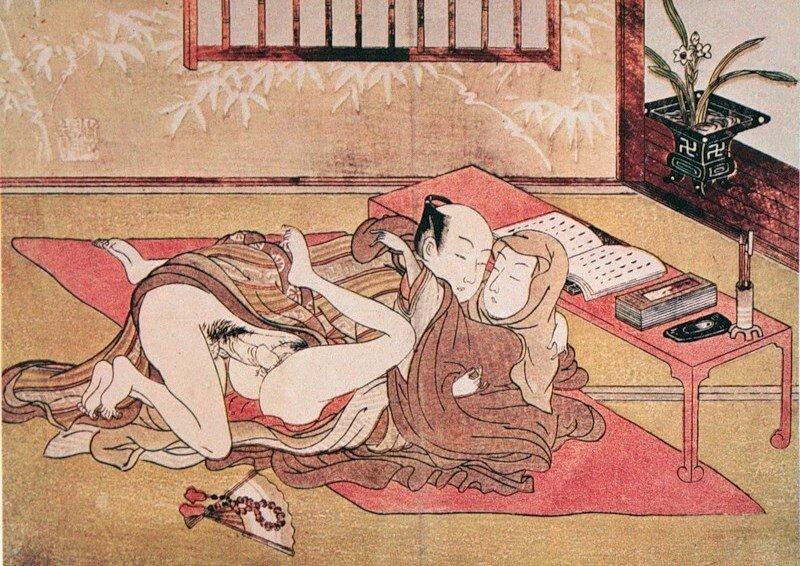 Японская древняя порно 13