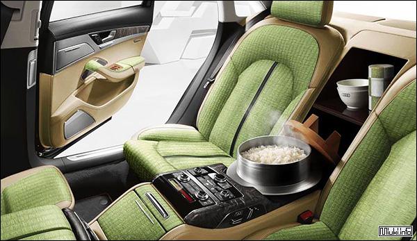 Audi со встроенной рисоваркой для японского рынка