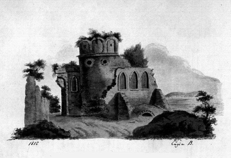 Рис. Е.А. Боратынского. 1816