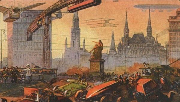 Мир через 100 лет: как видели будущее люди в 1900 году.