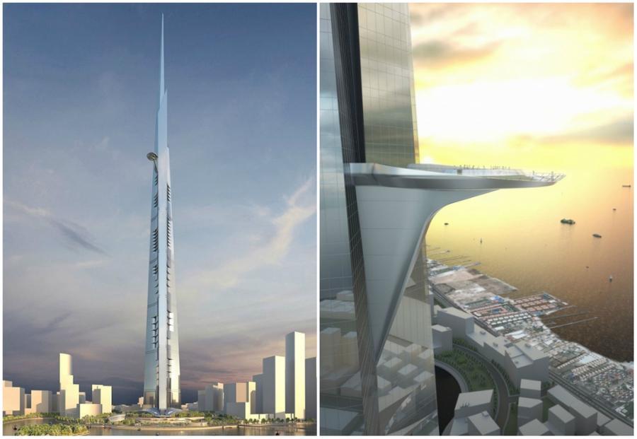 1. Королевская башня По своей высоте Королевская башня превысит самое высокое здание в мире «Бурдж Х