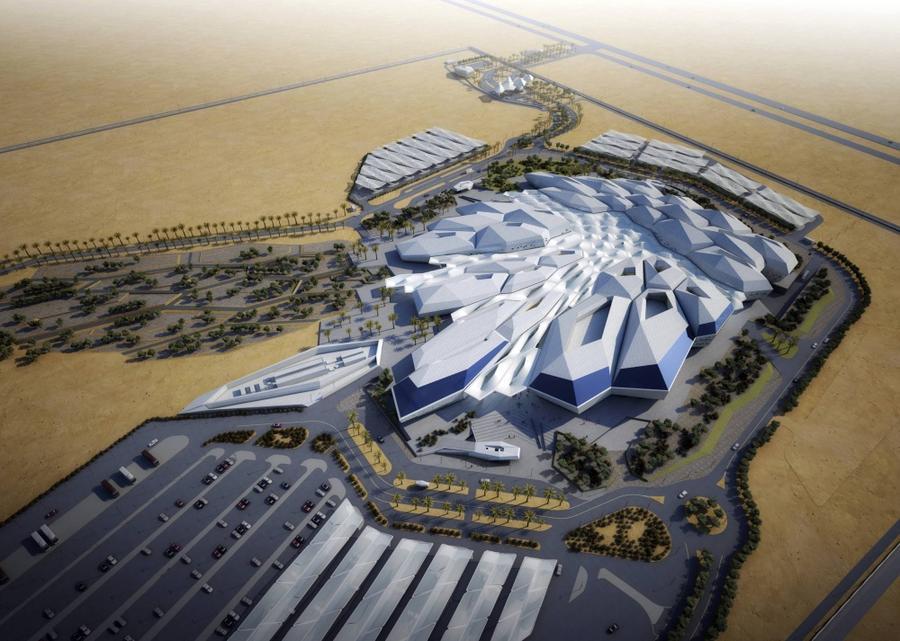 6. Центр изучения и исследования нефти короля Абдаллы (KARSARS) Это здание в Саудовской Аравии очень