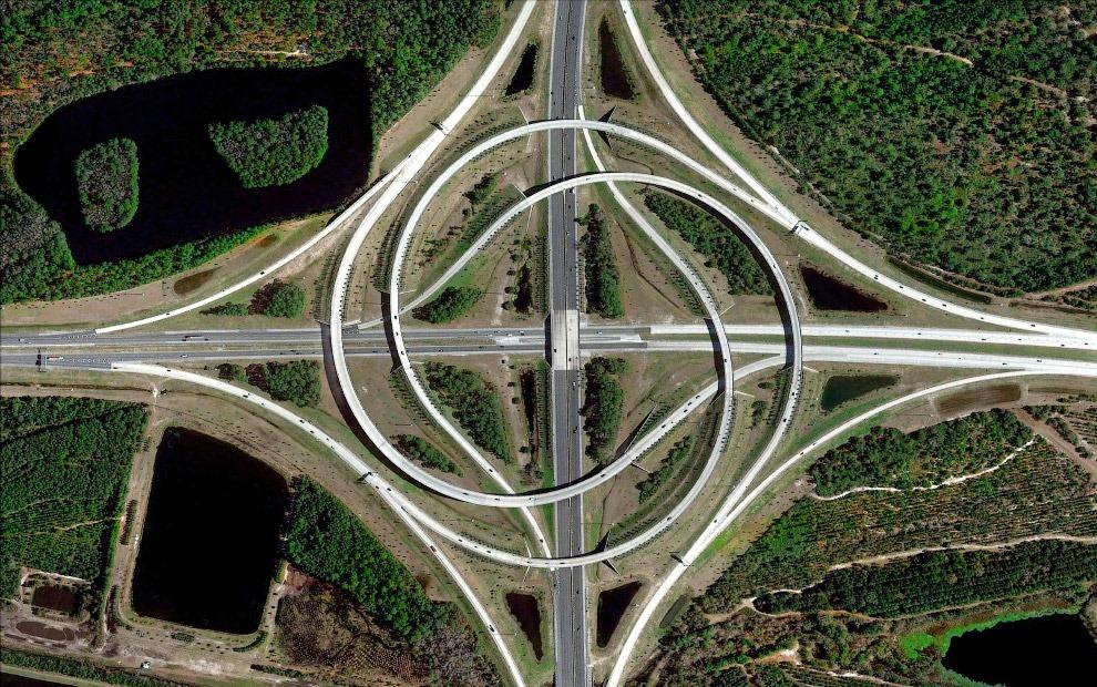4. Популярный город-курорт Бока-Ратон, штат Флорида. (Фото Benjamin Grant | Digital Globe):
