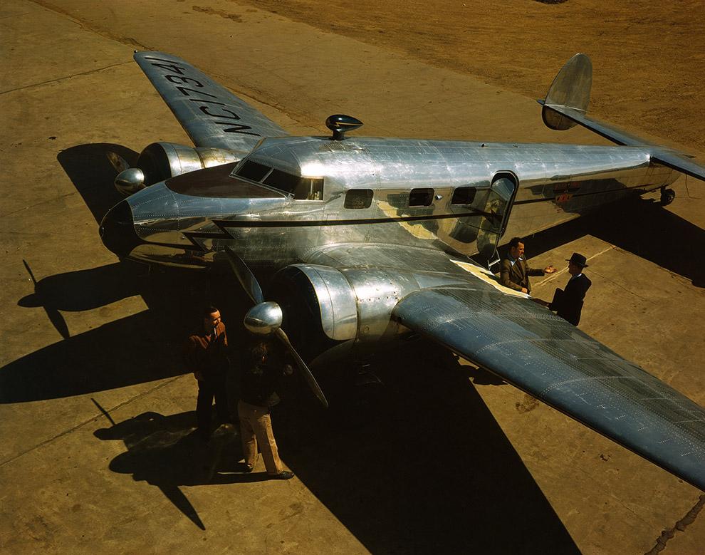 16. Он был одним из первых «бизнес-джетов» — самолетов, которые покупали частные компании для п