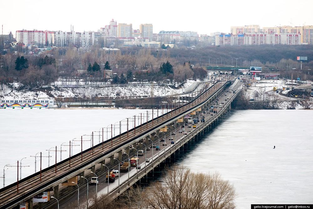 Мост закладывался с перспективой строительства в Воронеже скоростного трамвая. В новом генплане Воро