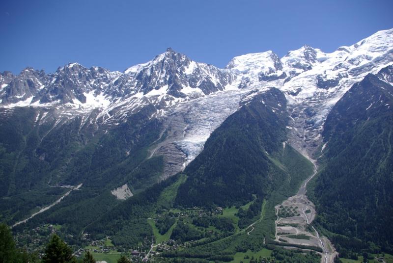 Самые красивые крупнейшие ледники мира: Боссон, Франция