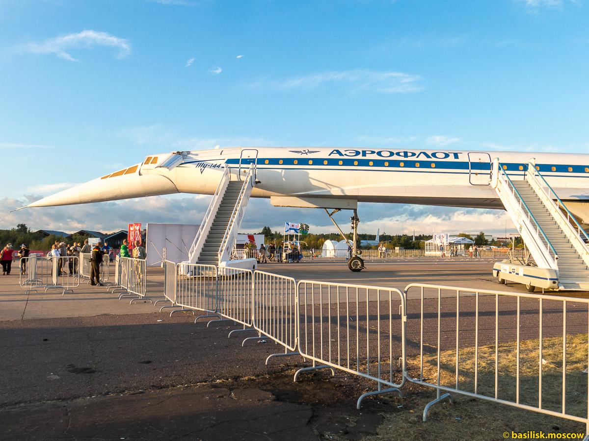Московский авиакосмический салон МАКС-2015. Исторические самолёты. Август 2015