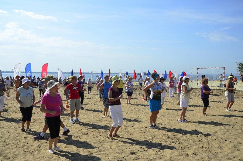 Открытие Центра пляжных видов спорта, Саратов, 13 августа 2016 года