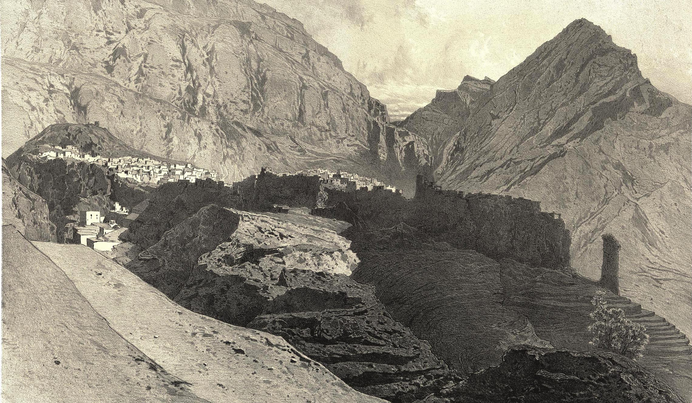 64. Daghestan. Vue generale d'Arakane / Дагестан. Общий вид Аракани