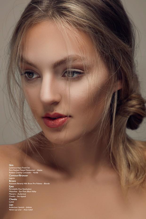 Bree by Natasha Gerschon for BEAUTY SCENE - Beauty Scene