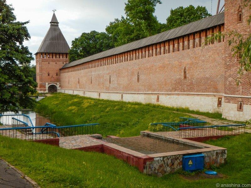 Смоленская крепость, Смоленск, Лопатинский сад