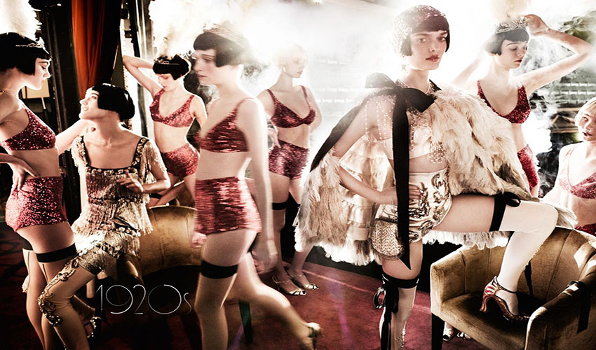 Vogue UK June 2016 Decades 1920s Sam Rollinson by Mario Testino