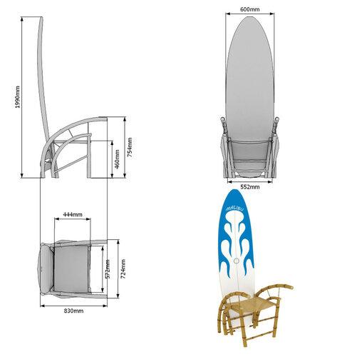 мебель для клуба Malibu Wave