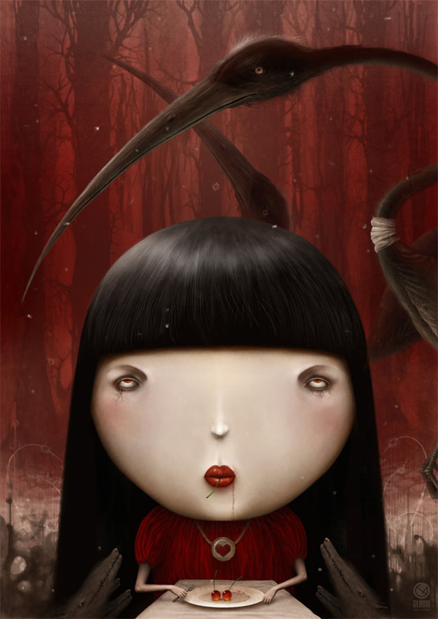 Psychedelic Illustrations by Anton Semenov