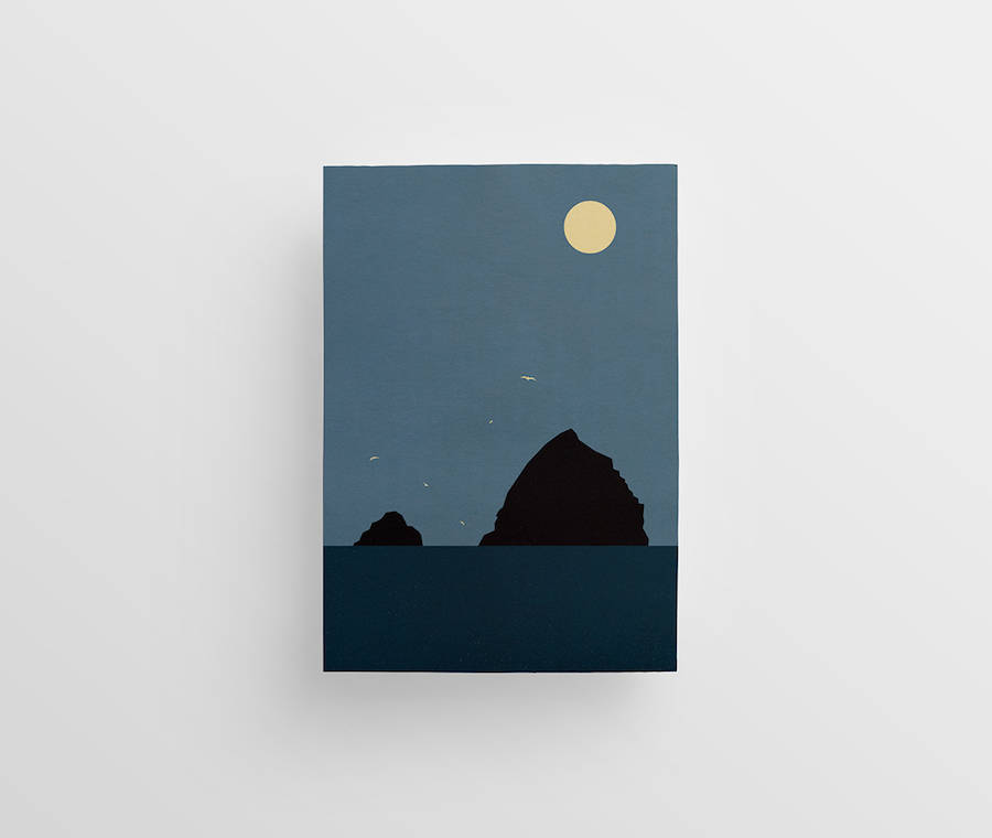 Beautiful Minimalist Landscape Illustrations