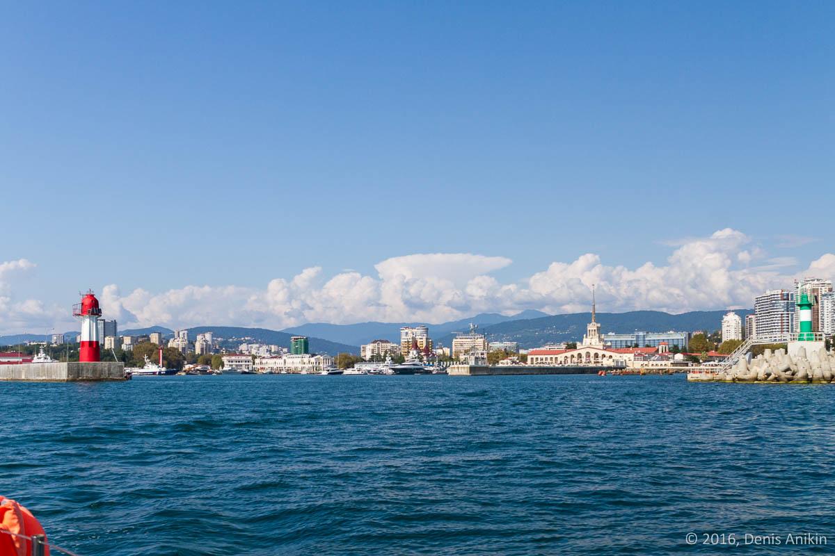 Морские прогулки в Сочи 7