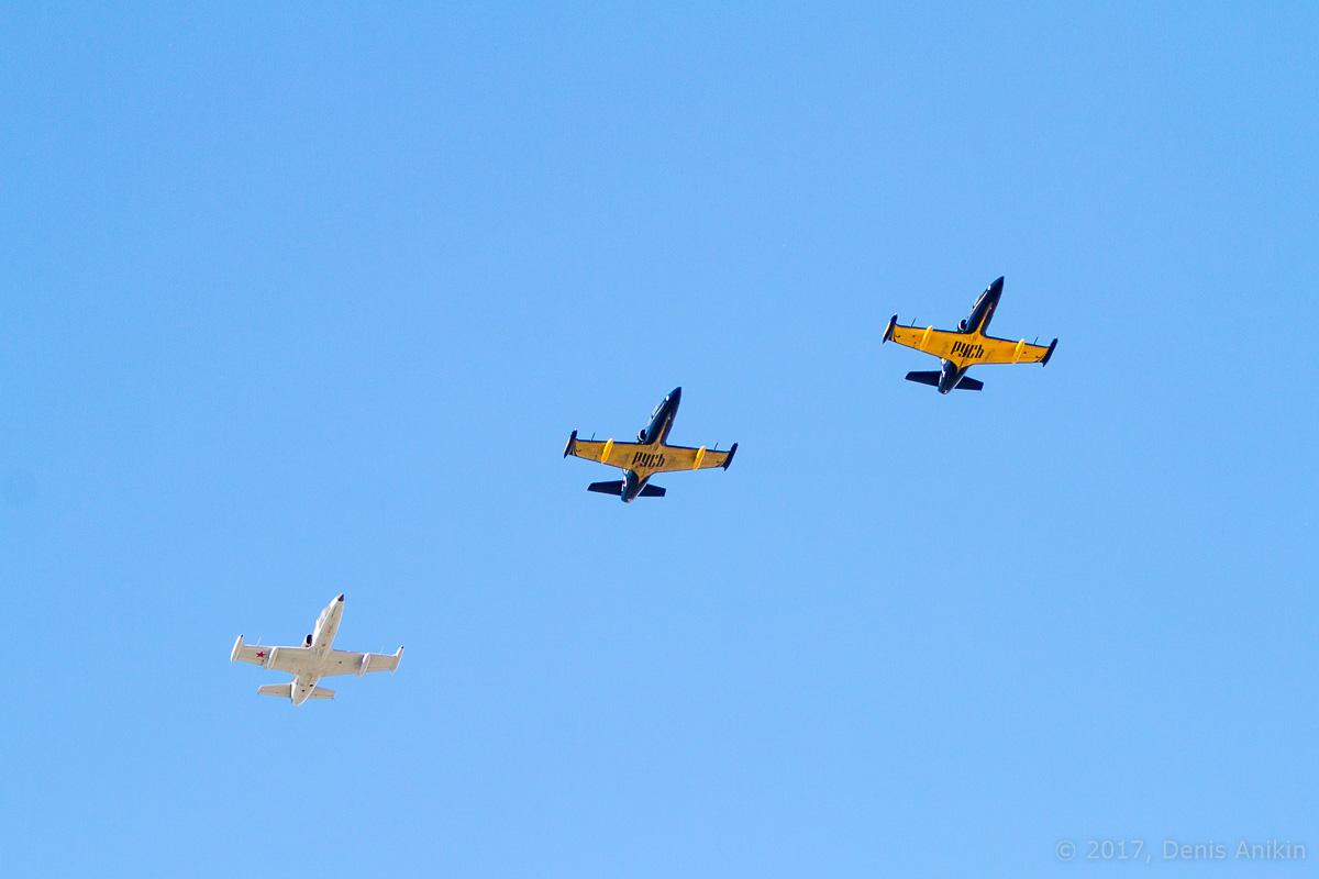Пилотажная группа Русь в Саратове фото 1
