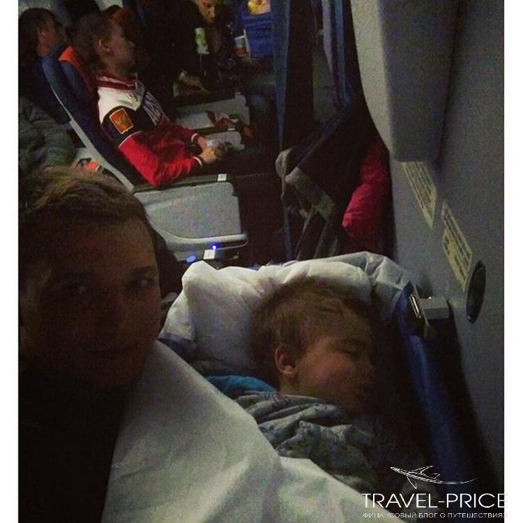 люлька в самолете для малыша