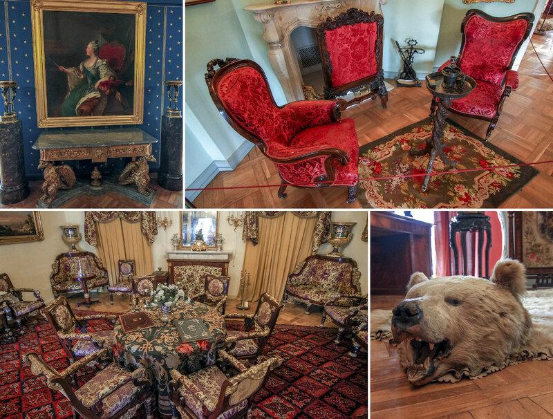Выставка мебели в Павловском дворце