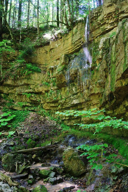 Водопад на притоке Чинаревой балки