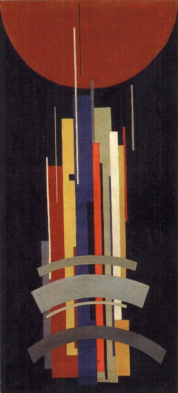1920-е. Илья Чашник. Вертикальные оси в движении