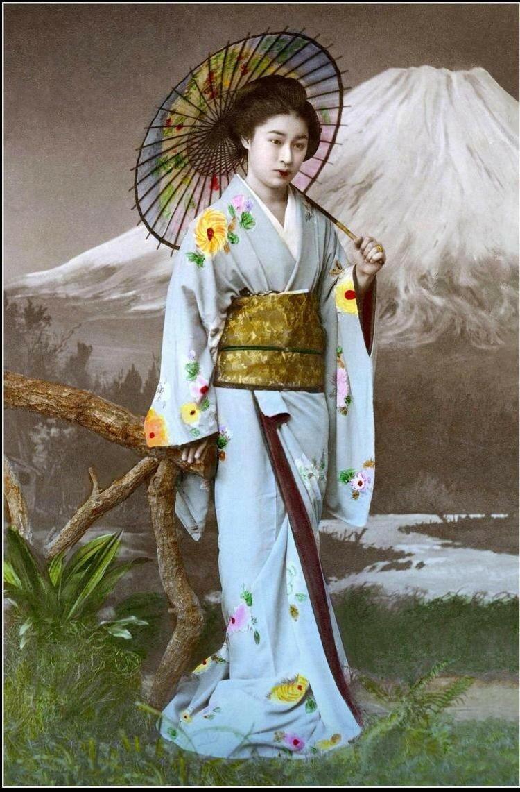 Японка в студии