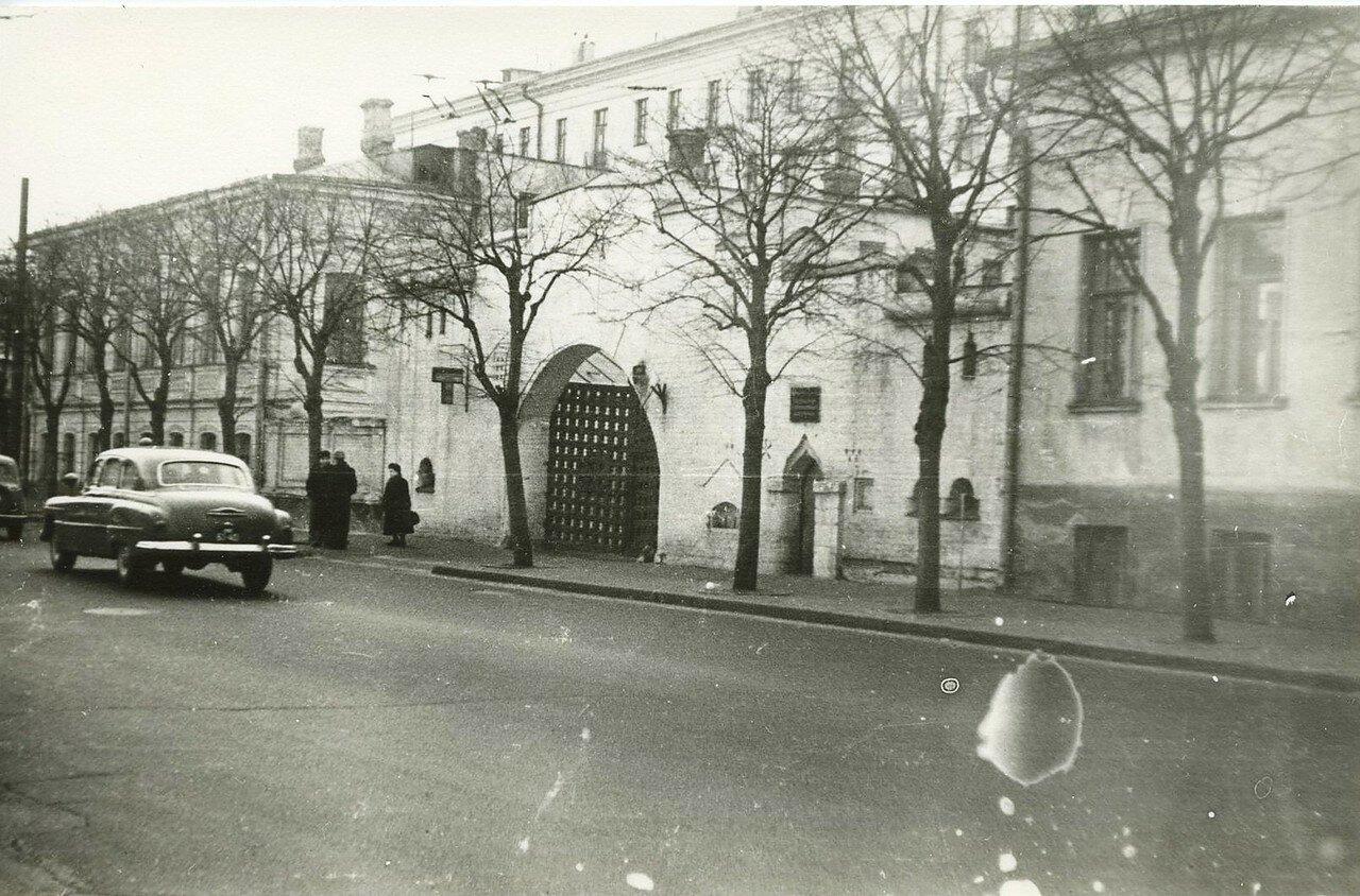 1960. Улица Большая Ордынка