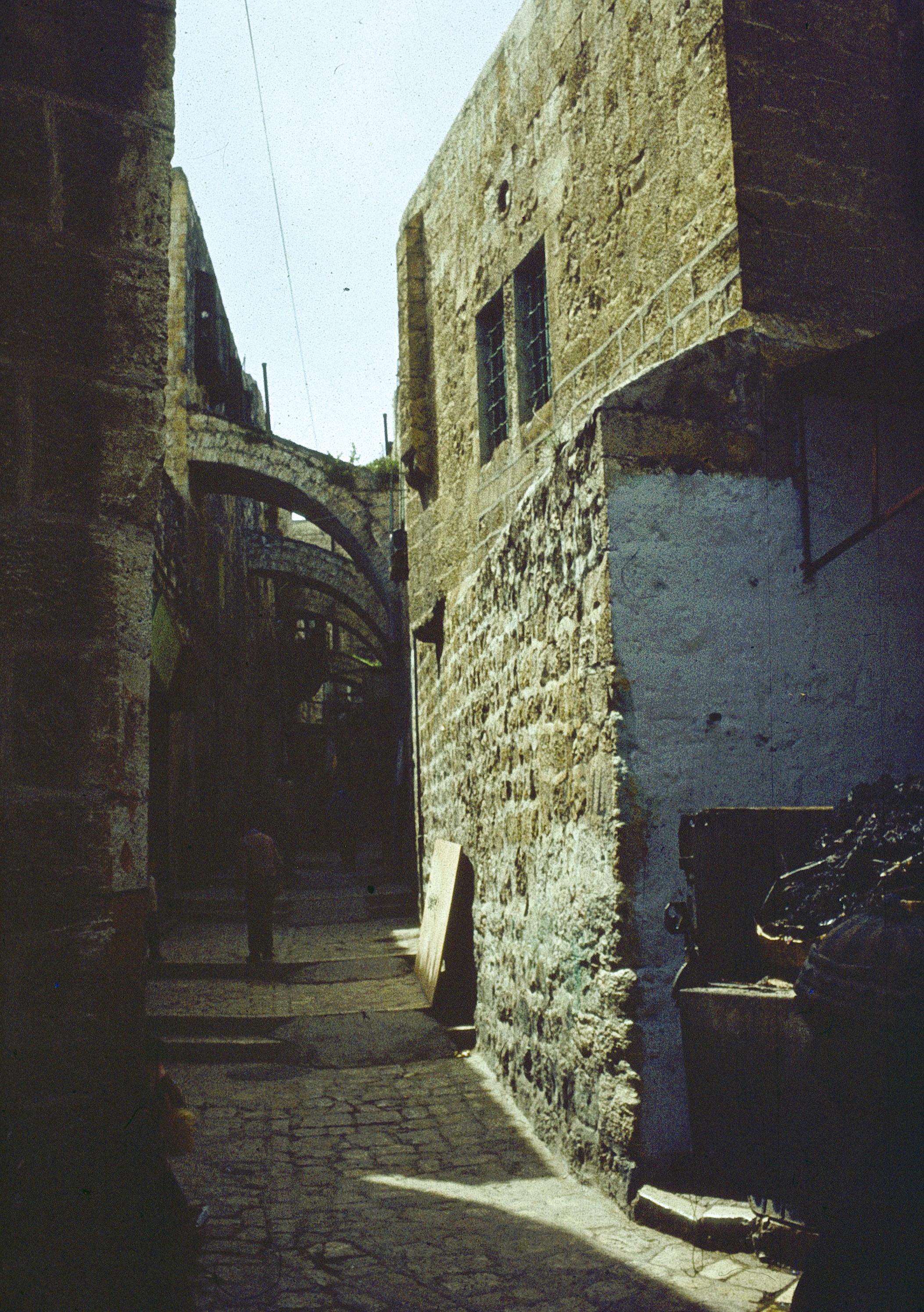 Иерусалим. Старый город. 1973