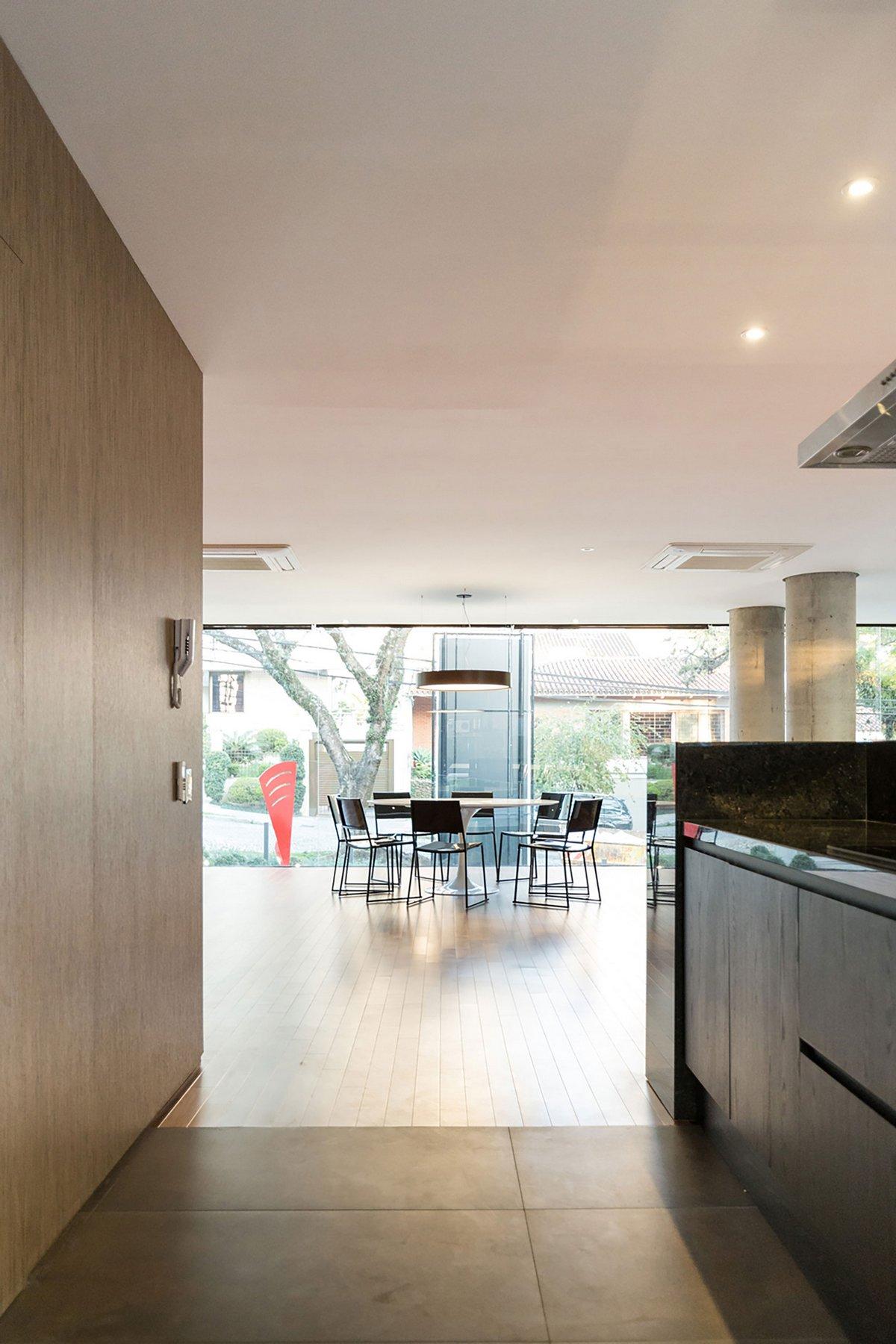 Апартаменты из бетона и стекла