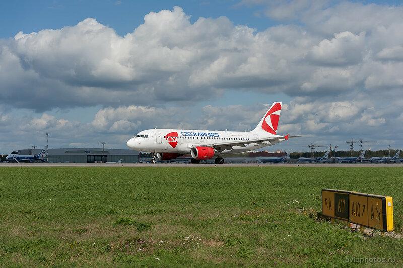 Airbus A319-112 (OK-NEN) CSA - Czech Airlines 337_D704156