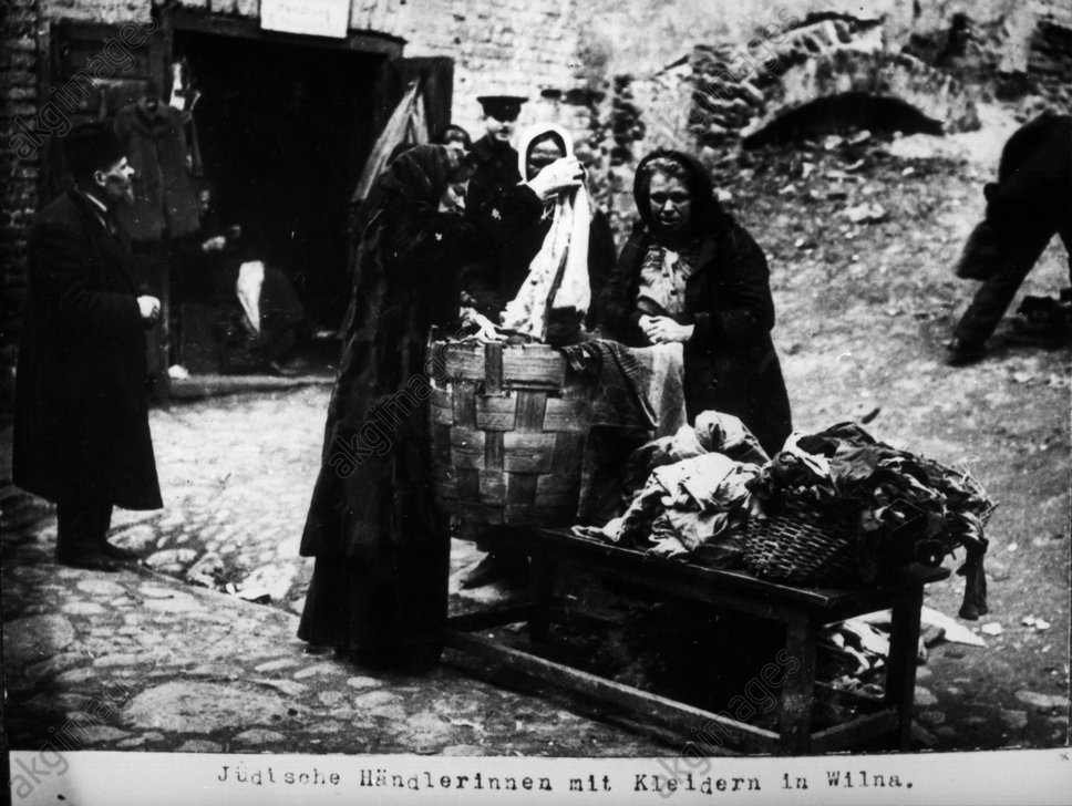 Jьdische Hдndlerinnen in Wilna / 1915 - Jewish sellers in Wilna / 1915 -