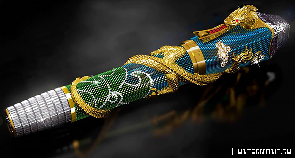 Montegrappa Ultimate Centennial Dragon — дорогая авторучка